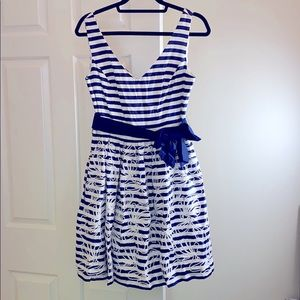 Nautical Lilly Pulitzer dress beaded